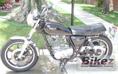 1979 Yamaha SR 500 G (cast wheels)