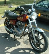 1980 Yamaha XS 650 US. Custom photo
