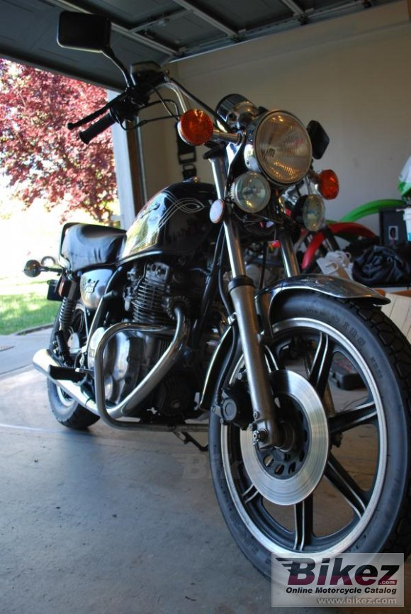 1980 Yamaha XS 400 US. Custom photo