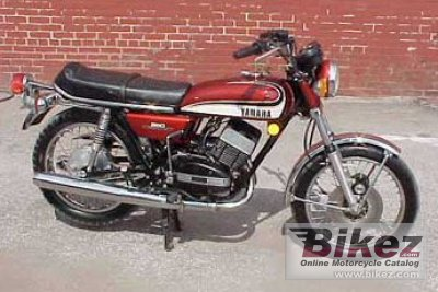 1980 Yamaha RD 350 photo