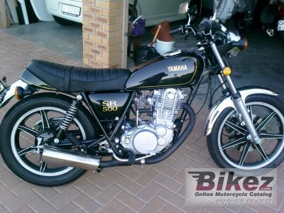 1980 Yamaha SR 500 G (cast wheels) photo