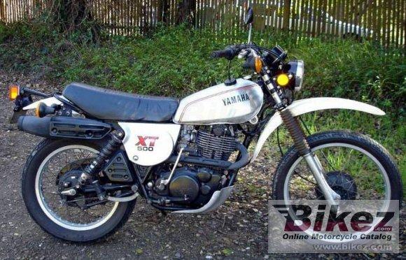 1980 Yamaha XT 500