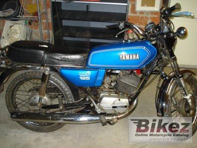 1980 Yamaha RS 125