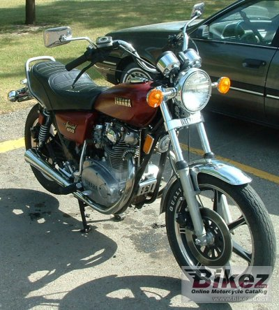 1980 Yamaha XS 650 US. Custom