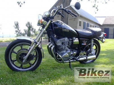 1980 Yamaha XS 750 US. Custom