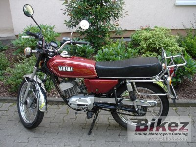1981 Yamaha RS 100 photo