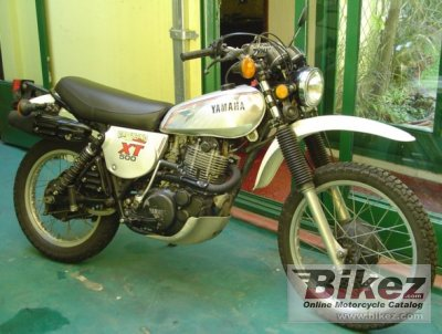 1981 Yamaha XT 500 photo