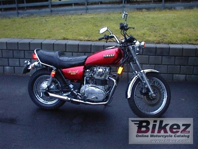 1981 Yamaha XS 650 Special specifications and pictures
