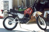 1982 Yamaha XT 250 photo