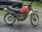 1982 Yamaha XT 550 (reduced effect)