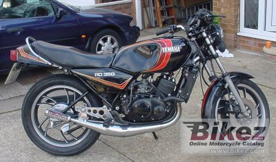 1982 Yamaha RD 350 LC specifications and pictures