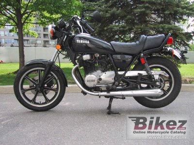 1982 yamaha xs 400 specifications and pictures for 1981 yamaha sr185 specs