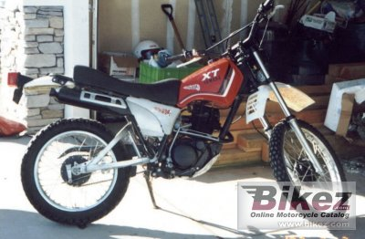 Strange 1982 Yamaha Xt 250 Specifications And Pictures Camellatalisay Diy Chair Ideas Camellatalisaycom
