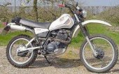 1983 Yamaha XT 550 (reduced effect) photo