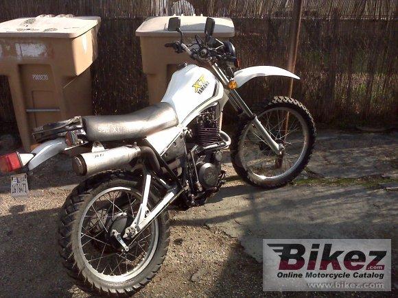 Yamaha xt 550 for Yamaha clp 550 specifications