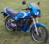 1983 Yamaha RD 125 LC photo