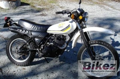 Xt on Yamaha Xt Enduro