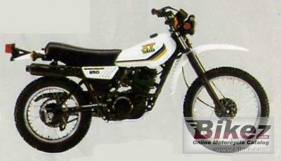 1984 Yamaha XT 250 photo