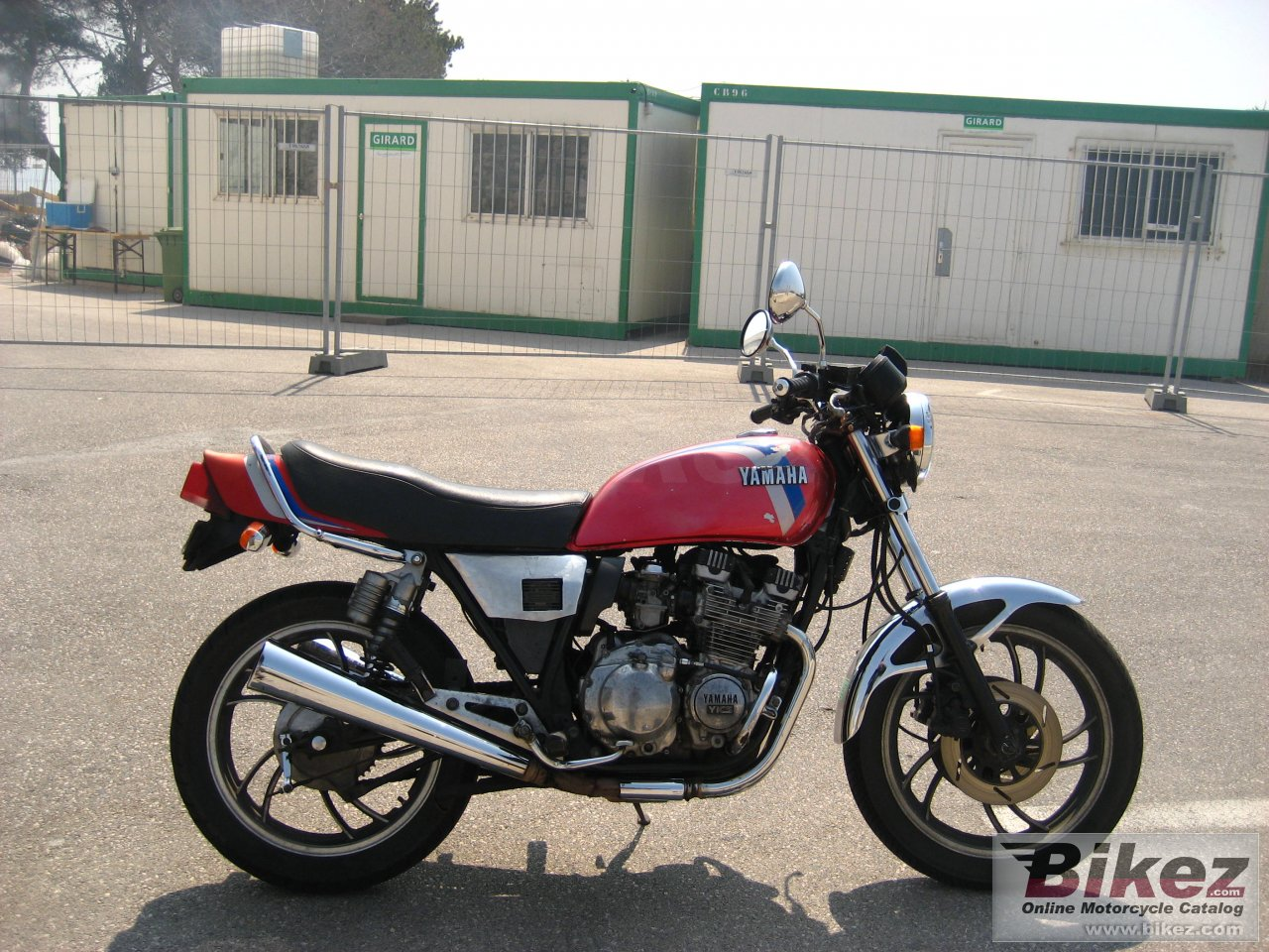 h zephyr 750 rear suspensions and Sito exhaust syst xj 550