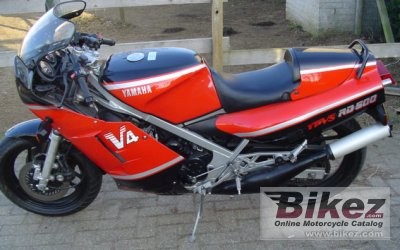 1985 Yamaha RD 500 LC specifications and pictures