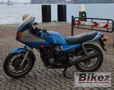 1986 Yamaha XJ 650 Turbo photo