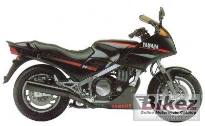 1986 Yamaha 1200 1986 Yamaha fj 1200