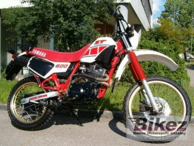 1986 yamaha xt 600 specifications and pictures. Black Bedroom Furniture Sets. Home Design Ideas