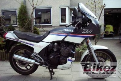 1987 Yamaha XJ 600 photo