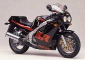 1987 Yamaha FZR 1000 Genesis (reduced effect)