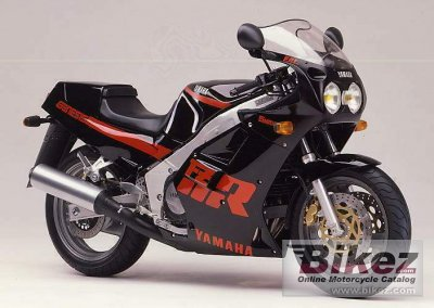 1987 Yamaha FZR 1000 Genesis (reduced effect) photo
