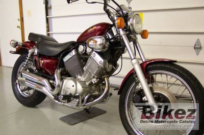 1987 Yamaha Virago XV 535 specifications and pictures