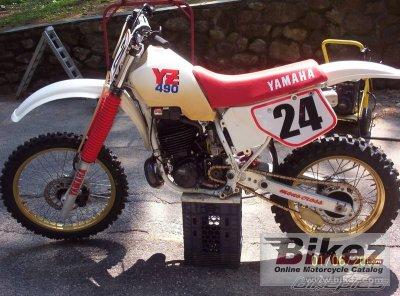 1987 Yamaha YZ490