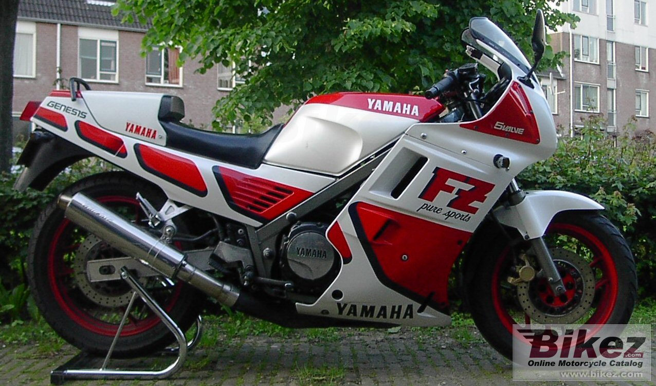 Big --- fz 750 picture and wallpaper from Bikez.com