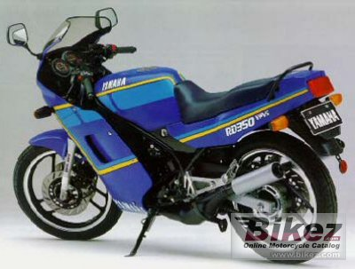 1988 Yamaha RD 350 specifications and pictures