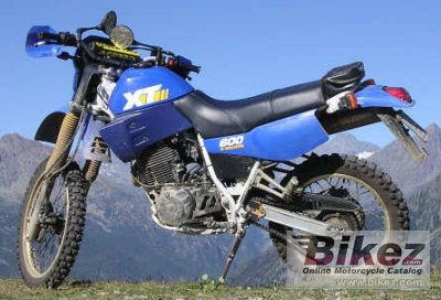 1988 yamaha xt 600 specifications and pictures. Black Bedroom Furniture Sets. Home Design Ideas