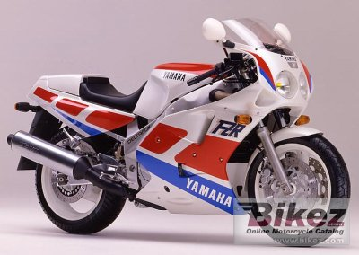1989 Yamaha FZR 1000 (reduced effect)