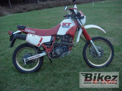 1989 yamaha xt 600 specifications and pictures. Black Bedroom Furniture Sets. Home Design Ideas