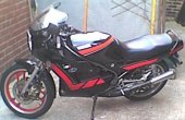 1990 Yamaha RD 350 F (reduced effect) photo