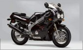 1990 Yamaha FZR 600 (reduced effect)