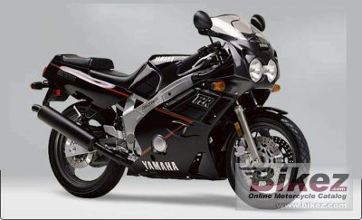 1990 Yamaha FZR 600 (reduced effect) photo
