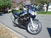 1990 Yamaha FZR 1000 (reduced effect)