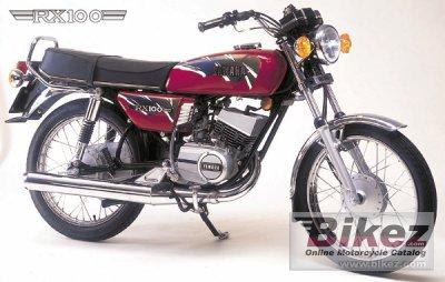 1990 Yamaha RX 100