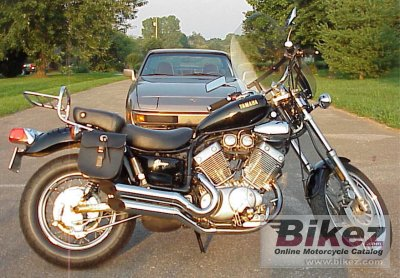 1990 Yamaha XV 535 Virago specifications and pictures