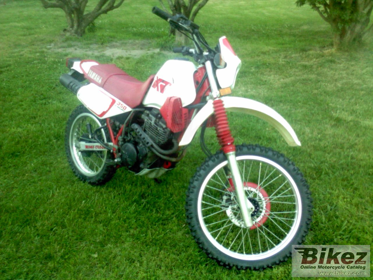 Big  xt 350 picture and wallpaper from Bikez.com