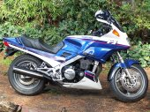 1991 Yamaha FJ 1200 (reduced effect)