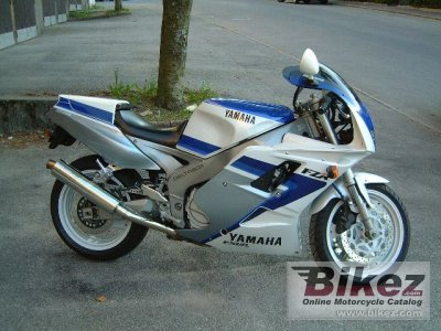 1991 Yamaha FZR 1000 specifications and pictures on