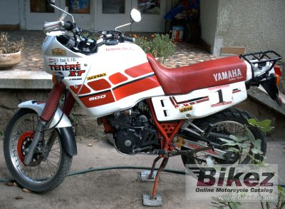 1991 yamaha xt 600 z t n r specifications and pictures. Black Bedroom Furniture Sets. Home Design Ideas
