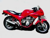 1992 Yamaha XJ 600 S Diversion (reduced effect #2)