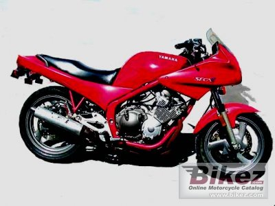 1992 Yamaha XJ 600 S Diversion (reduced effect 2)