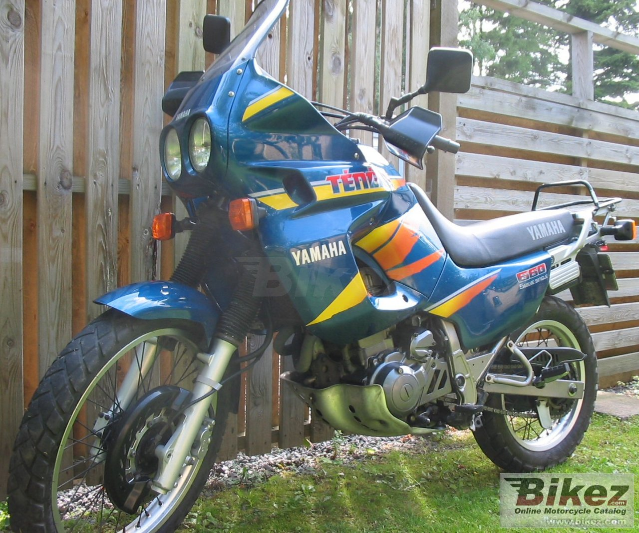 Big Pele Lidby xtz 660 tenere picture and wallpaper from Bikez.com